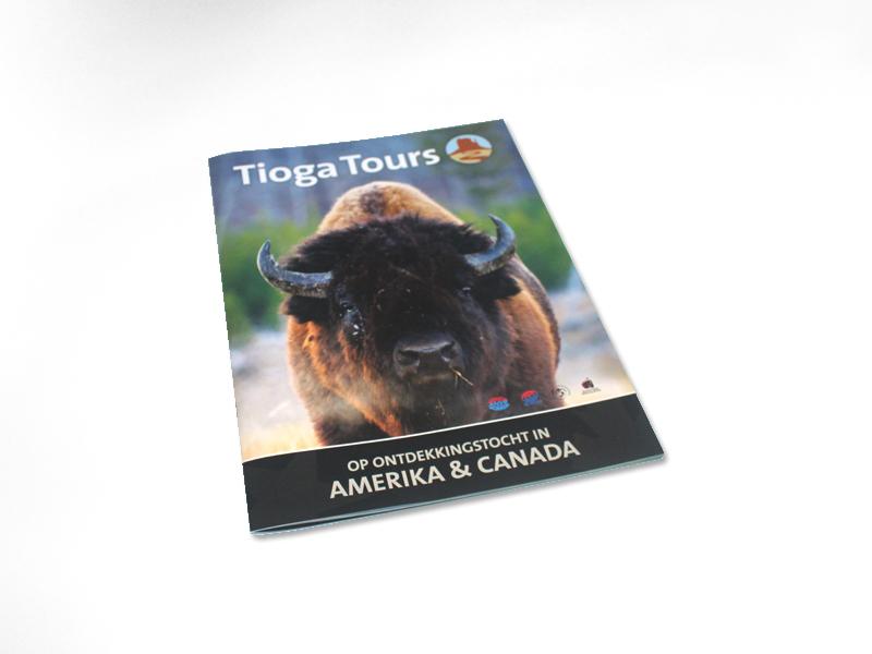 Tioga Tours Reismagazine