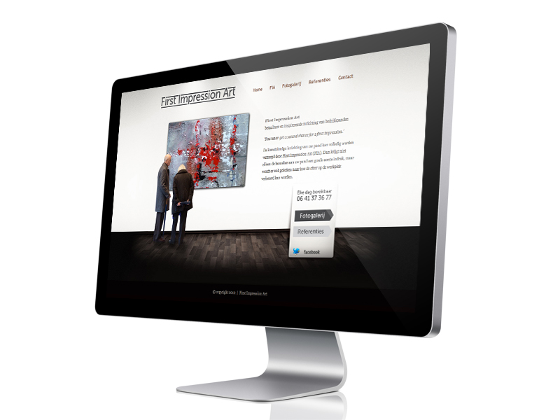 First Impression Art Website